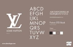 Louis Vuitton #font #louis vuitton