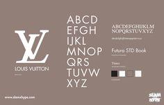 Louis Vuitton #font #vuitton #louis
