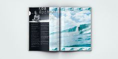 Surfing Magazine Editorial 2012 - Joy Stain #surf #surfing #print #spread #layout #editorial #magazine #typography