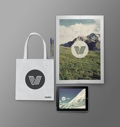Marca Vlr : Javier Suárez #bag #logo #photography #ipad