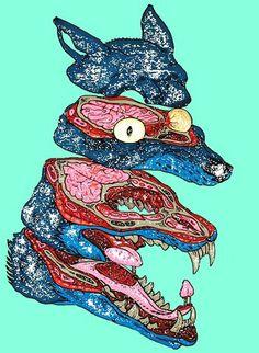 """Poltergeist Î"""" #brains #dog"""