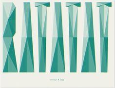 Ratatat : Renee Fernandez - Selected Work #type #poster #lettering #ratatat