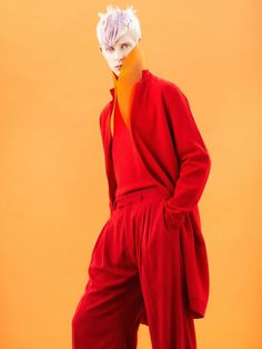 COUTE QUE COUTE: MODELS #fashion #photography #red #monochrome