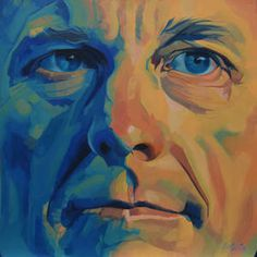 Lance Armstrong #oil #painting