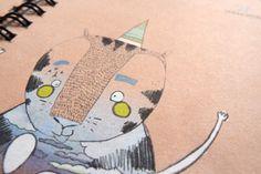 Prinz Apfel Calendar 2014 #illustration #calendar #doodle