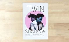 Twin Shadow #twin #flyer #decimal #shadow