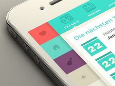 Iphone_sidebar_perspective #iphone #app #mobile #ux