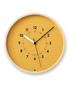 state of the state - SoSo Wall Clock #clock #wall clock #time #futura