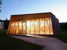 Atelier A+D: Chapelle de St-Loup #architecture #facades