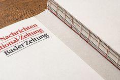 Herausgefordert. Die Geschichte der Basler Zeitung on Behance #book