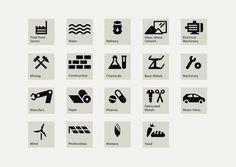 Übersicht Farbvariante 1, 2014 © Nora Kuper #icon #picto #symbol #sign