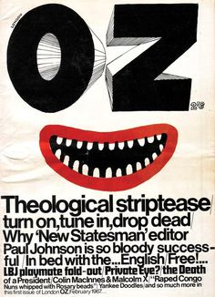 oz #font #posters #mood #type #layout