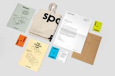 Space&matter Visual Identity & Website - Mark Bain Creative #identity #collateral #branding