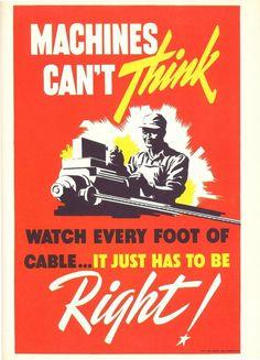 J. J. Sedelmaier on a World War II Poster Campaign #poster #ww2