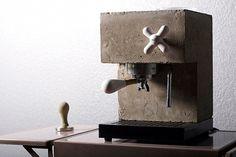 Anza #concrete #espresso Machine
