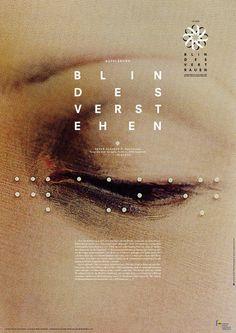 Daniel Gumbert #blind #frankfurt #round #poster #dot