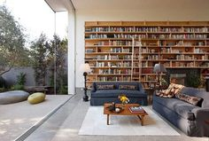 CJWHO ™ (Goodman Residence by Abramson Teiger Architects) #design #interiors #books #photography #architecture #library
