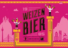 30 for 30 beer label design for Widmer Brother Brewing #weizenbier #tim #weakland #brothers #widmer #1985