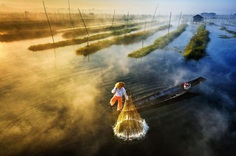 Sun's Up, Nets Out by Zay Yar Lin