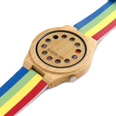 Bobo Bird WA01 - Wooden Watch With Free Shipping Worldwide