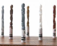 Diem Chau + W+K = NIKE Crayons (NOTCOT) #crayons #diem #chau
