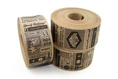 Custom kraft tape #tape