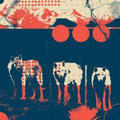 Fragments Tile 5/12 Art Print
