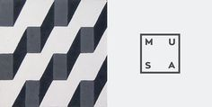 MUSA on Branding Served #branding #perspective #shapes #musa #logo