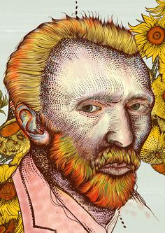 YOUNG LIONS COMPETITION 2013 on Behance #gogh #van #illustration #colours