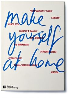Rasmus Koch Studio : Make yourself at home exhibition #cover #catalog #museum