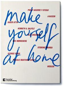 Rasmus Koch Studio : Make yourself at home exhibition #cover #catalog #museum