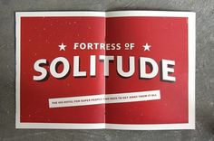 Colin Dunn Fortress of solitude | Jared Erickson #print #promotional #red #super