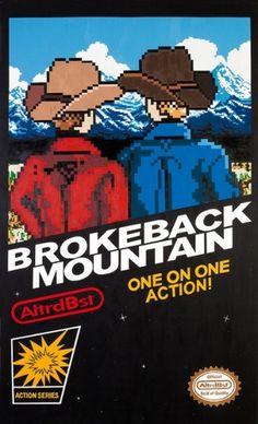 koikoikoi.com #mountain #fake #videogame #pixel #illustration #art #brokeback
