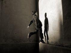 All sizes   autumn   Flickr - Photo Sharing! #blackwhite #pimp #kid #jump #scarlet #shadow
