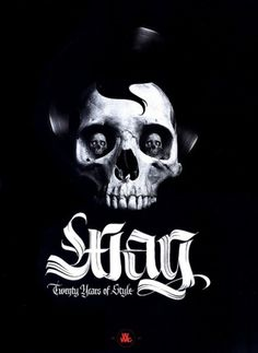 WAG XX YEARS poster | Flickr - Photo Sharing! #skull