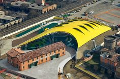 Enzo Ferrari Museum by Future Systems | Hypebeast #architecture
