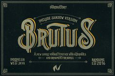 Brutus Typeface Extras - Display - 1