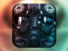 Tiefighter2_dribbble #icon #iphone #application #ipad