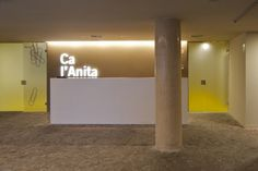 Ca l'Anita #cal #design #graphic #roses #environmental #architecture #signage