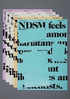 NDSM Magazine — Our Polite Society #magazine #society #ndsm #polite