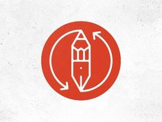 Dribbble - Pen2 by Martin #icon #logo #mark #pen