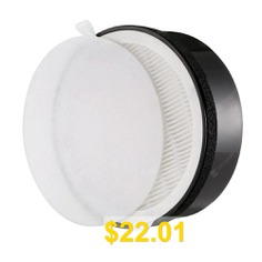 Gblife #Replacement #Filter #for #KJ65F #- #A1 #Air #Purifier #Anti-bacterial #Coating #3 #Stages #of #Filtration #- #BLACK