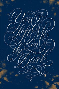 Jessica Hische - Florence and the Machine #calligraphy