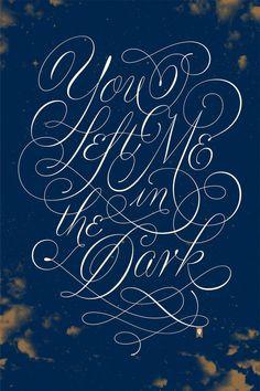 Typography #script #typography
