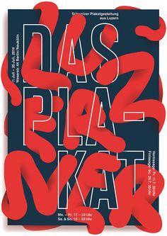 Typeverything.com - Das Luzeren Plakat by Josh Schaub. #poster