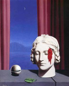 "surrealism-love: "" Memory, 1948, Rene Magritte Size: 49x59 cm Medium: oil, canvas"""