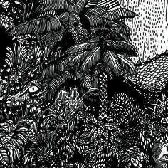 WERKDISCS / WERKHAUS - Loup Blaster #illustration