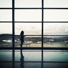 Girl in terminal