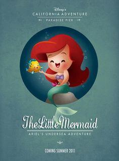Kawaii Little Mermaid | Flickr: Intercambio de fotos #mermaid