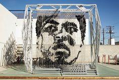 Muhammad Ali Sculpture | Fubiz™ #sculpture #muhammad #ali